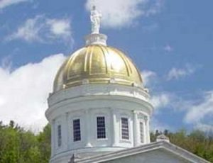 Dome on Vermont Statehouse